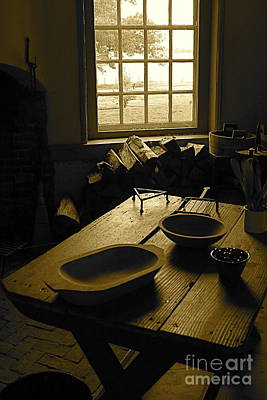 Art Print featuring the photograph The Kitchen by Nicola Fiscarelli