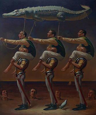 Figurativ Painting - The Kite by Faizulla Khamraev