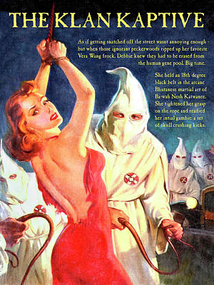 Mixed Media - The Klan Kaptive by Dominic Piperata