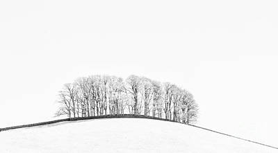 Infra-red Photograph - The Knolls by Janet Burdon