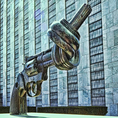 Photograph - The Knotted Gun by Allen Beatty
