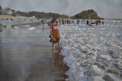 Painting - The Konkan Beach by Vikram Singh