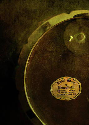 Behind The Scene Photograph - The Konvalinka Music Box by Rebecca Sherman
