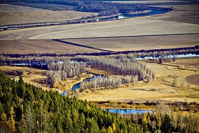 Photograph - The Kootenai Valley by Albert Seger