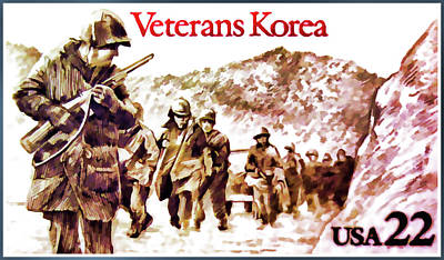 Approval Painting - The Korean War Veterans  by Lanjee Chee