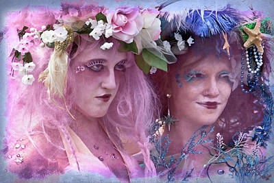 Photograph - The Kostume Girls At The Mermaid Parade by Chris Lord
