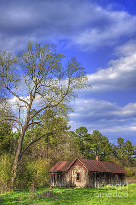 Country Scene Photograph - The Kudzu House by Reid Callaway