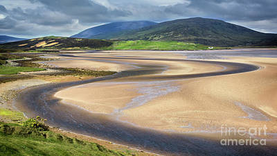 Wrath Photograph - The Kyle Of Durness by Janet Burdon