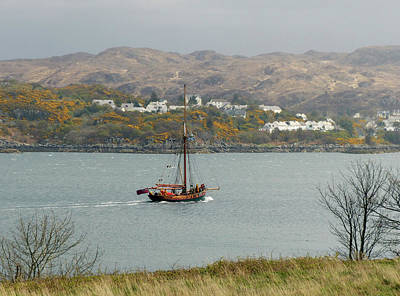 Photograph - The Kyle Of Lochalsh by Phil Banks