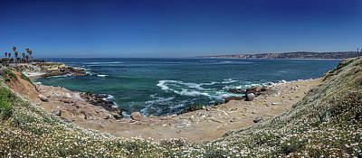 Photograph - The La Jolla Cove by Peter Tellone