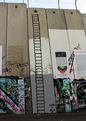 Photograph - The Ladder by Munir Alawi
