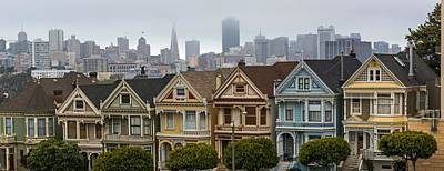 Photograph - The Painted Ladies Of San Francisco Ca by Willie Harper