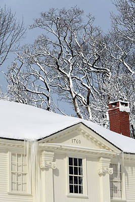 Photograph - The Lady Pepperrell House In Kittery Point, Maine.  by Mark Alesse