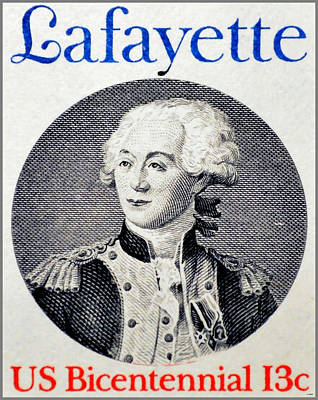Bicentennial Painting - The Lafayette  by Lanjee Chee