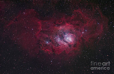 The Lagoon Nebula Art Print