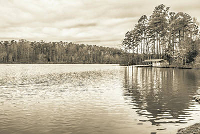 Photograph - The Lake #13  by Wade Brooks