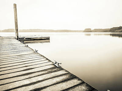 Photograph - The Lake #20 by Wade Brooks