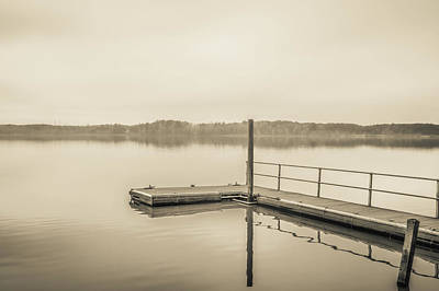 Photograph - The Lake #22 by Wade Brooks