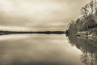 Photograph - The Lake #23 by Wade Brooks