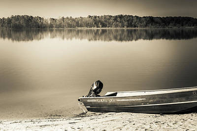 Photograph - The Lake #26 by Wade Brooks
