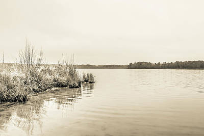 Photograph - The Lake #27 by Wade Brooks