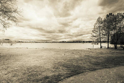 Photograph - The Lake #42 by Wade Brooks