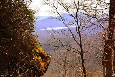 Caesars Head State Park Photograph - The Lake At Table Rock Seen From Caesars Head State Park by Lisa Wooten