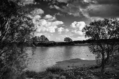 Photograph - The Lake Close To The Sea by Manolis Tsantakis