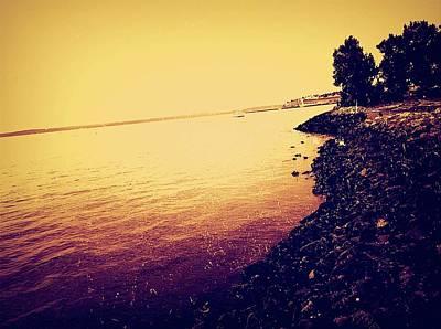 Photograph - The Lake by Eddie G