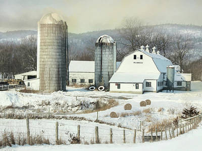 Photograph - The Lake Farm by Lori Deiter