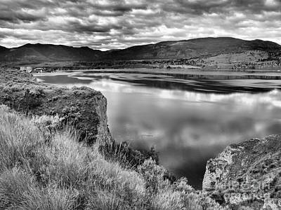 Photograph - The Lake In Black And White by Tara Turner