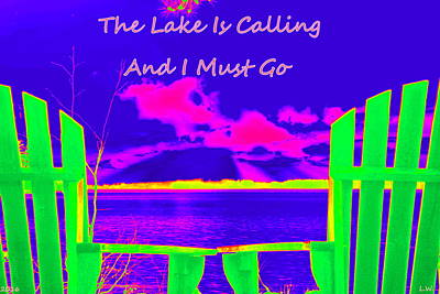 Photograph - The Lake Is Calling And I Must Go by Lisa Wooten