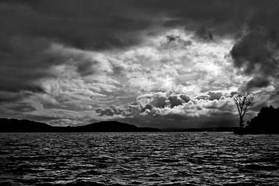 The Lake Print by John K Sampson