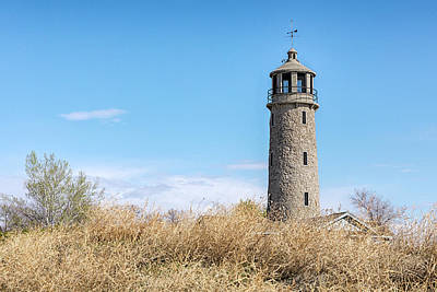 Photograph - The Lake Minatare Lighthouse by Susan Rissi Tregoning