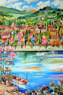 Painting - The Lake by Roberto Gagliardi