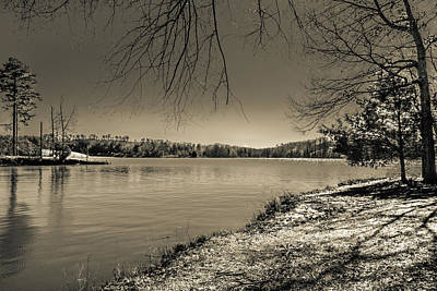Photograph - The Lake X by Wade Brooks