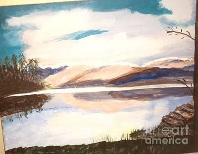 Painting - The Lakes by Audrey Pollitt