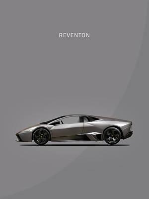 Photograph - The Lamborghini Reventon by Mark Rogan