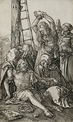 Relief - The Lamentation by Albrecht Durer