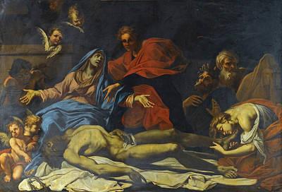 Painting - The Lamentation by Francesco di Maria