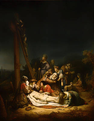 The Followers Painting - The Lamentation by Mountain Dreams
