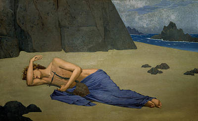 Orpheus Painting - The Lamentation Of Orpheus by Alexandre Seon