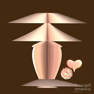 Lamp Mixed Media - The Lamp by Deborah Benoit