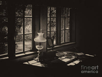 Photograph - The Lamp by Inge Riis McDonald