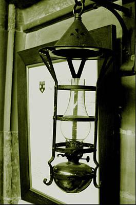 The Lamp Art Print by Jez C Self