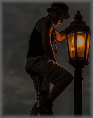 Photograph - The Lamp Man by Suanne Forster