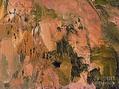 Digital Art - The Land Of Pink Mountains by Nancy Kane Chapman