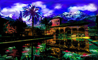 Surrealism Royalty-Free and Rights-Managed Images - The Land of Secrets  by Paul Sutcliffe