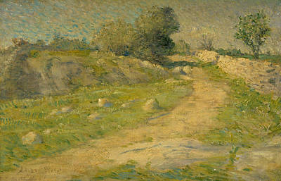 Painting - The Lane by Julian Alden Weir