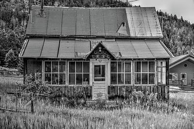 Photograph - The Lang House by Richard J Cassato